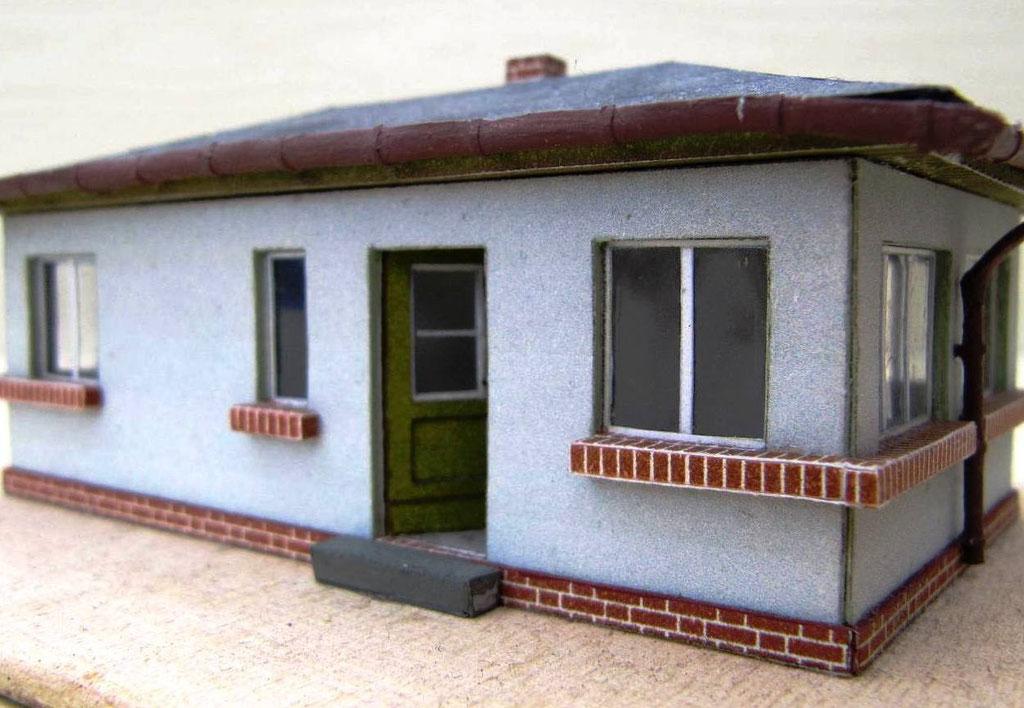 Dienstgebäude für Rangierer und Lademeister