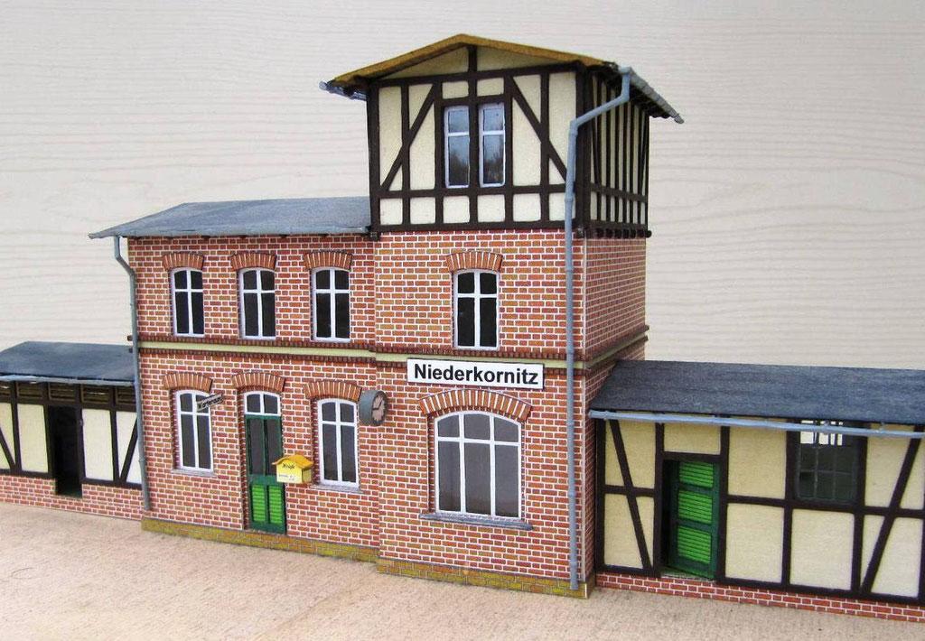 Bahnhof Niederkornitz - Empfangsgebäude