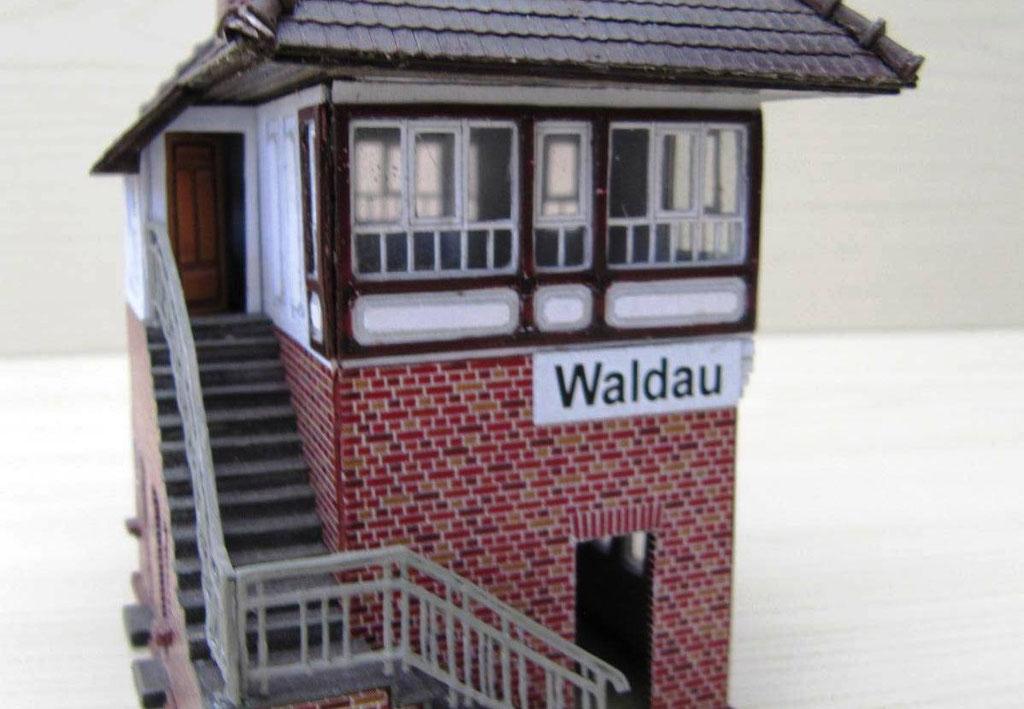 Stellwerk Waldau (Saale)