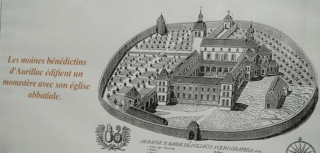 abbaye Sainte-Marie de Souillac, fondée vers 1100 par des moines d'Aurillac