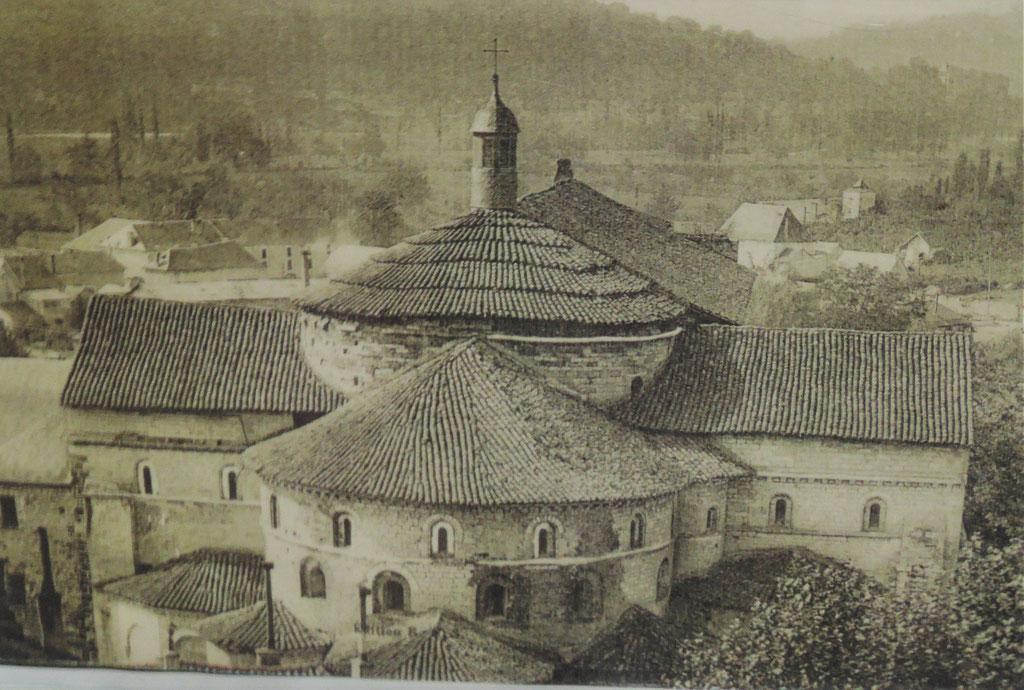 abbaye Sainte-Marie de Souillac, vers 1700, reconstruction de l'abbaye