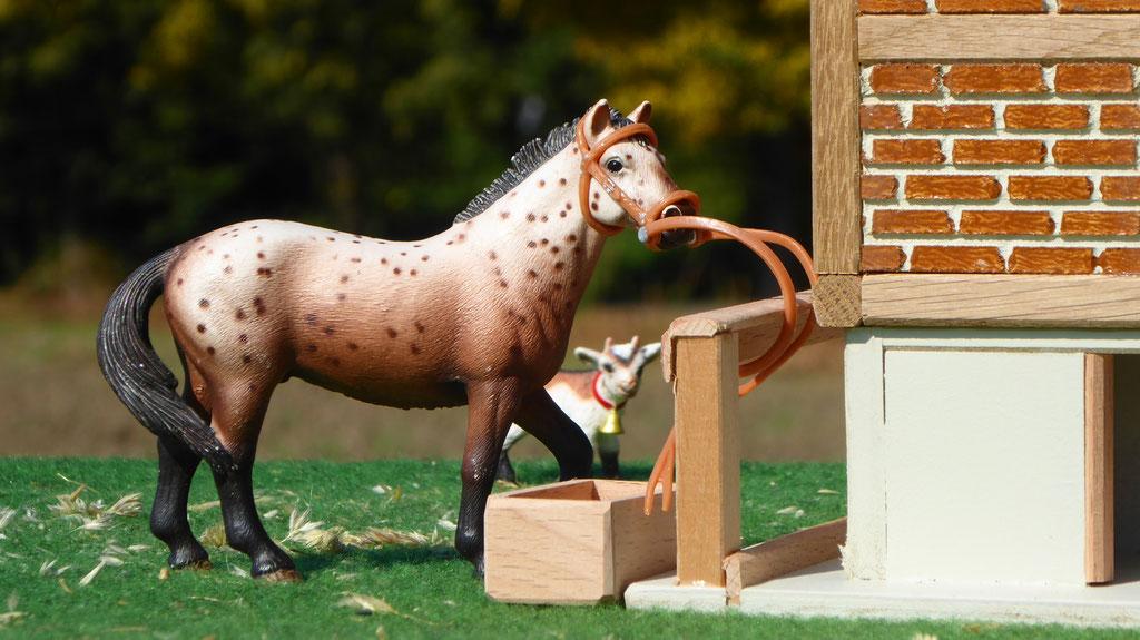 Schleich Pferd ohne Sattel