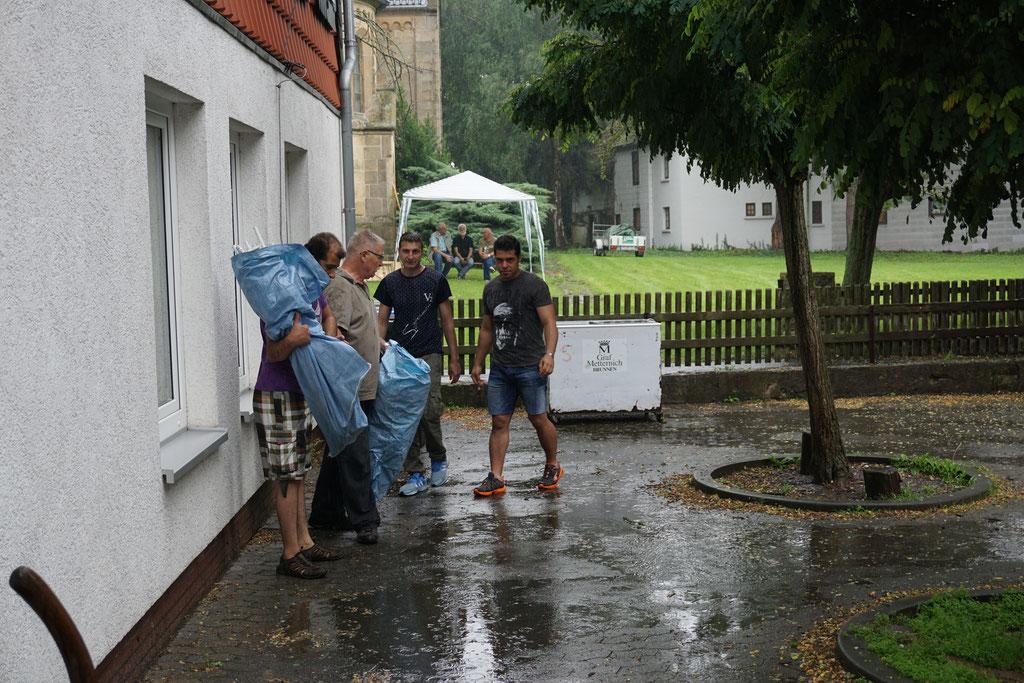 Ein Sommerfest im Regen?
