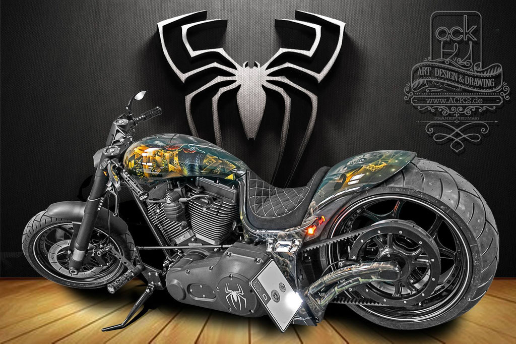 Spiderman Bike.... Thx to ACK2.de für die Pics