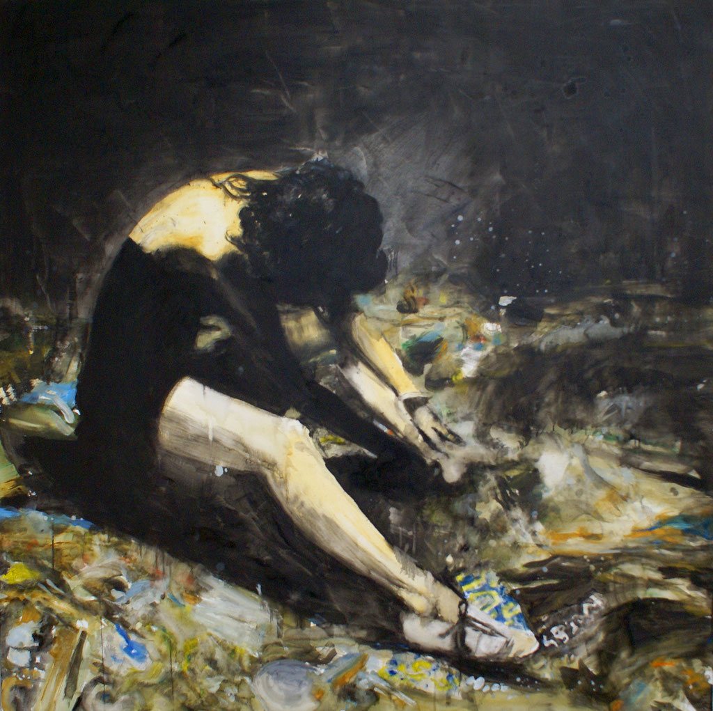 Night 150x150 cm Oil/Canvas 2009