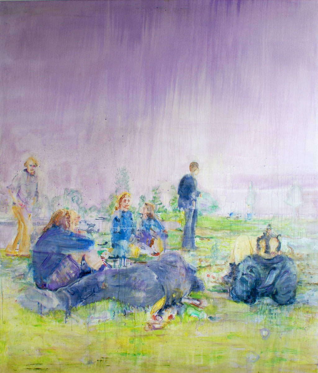Meadow 200x160 cm Oil/Canvas 2009
