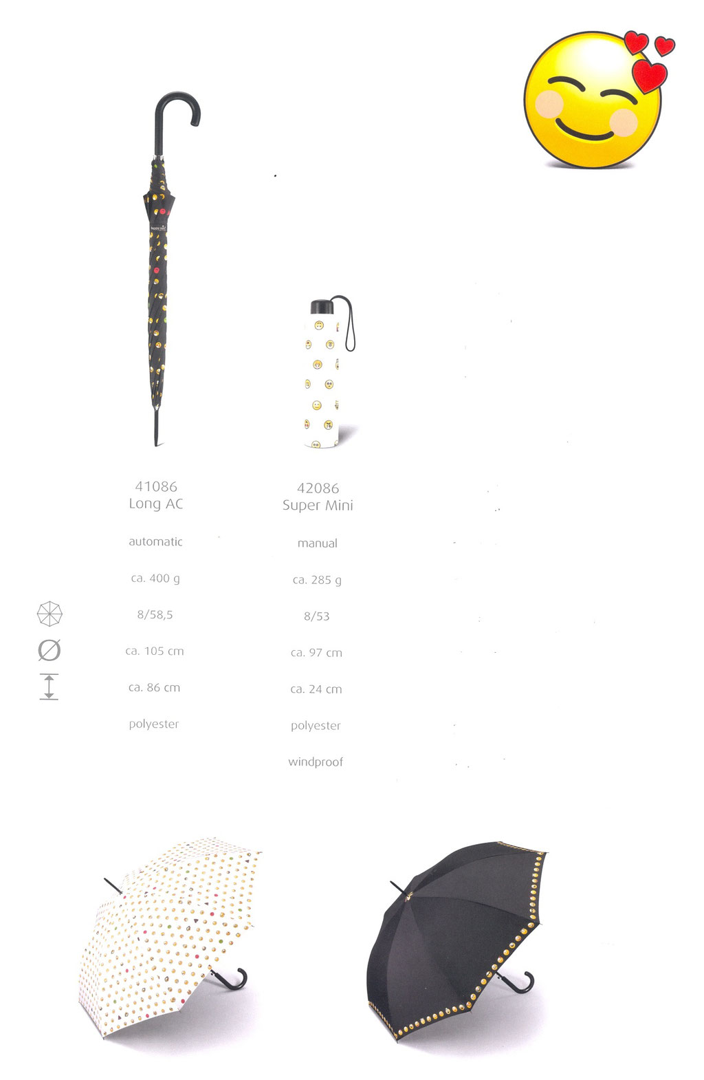 Essentials Emoticon 41086 Long 42086 Super Mini