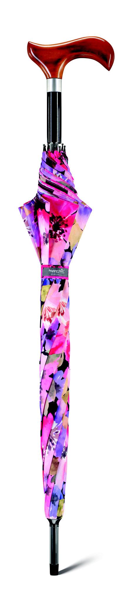 31016 Long ac Béquille delicate flowers