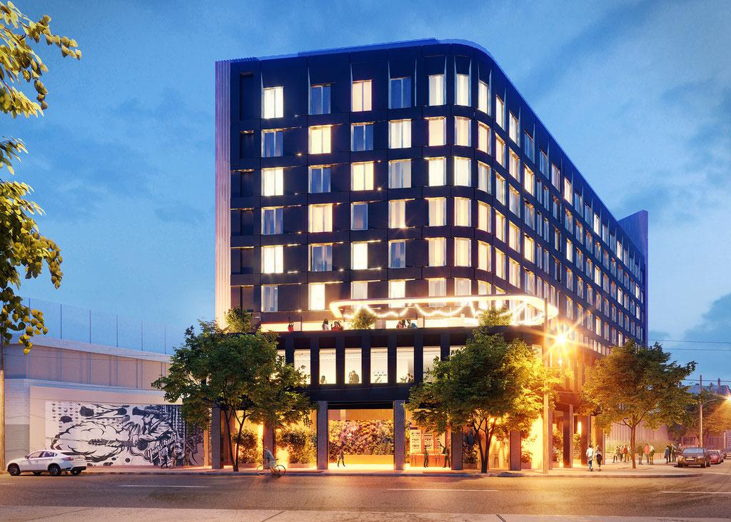 Hotel in Brooklyn, New York
