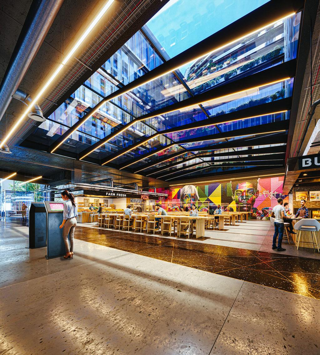 Food Court 12th St - Brooklyn, New York