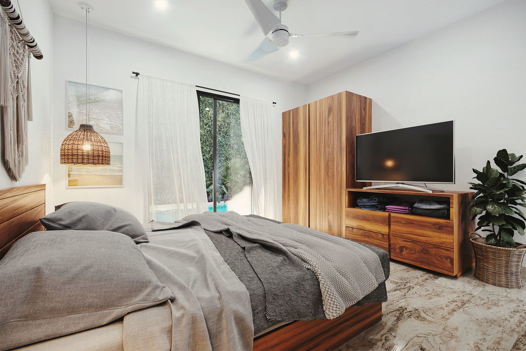 Bedroom, Tulum Mexico