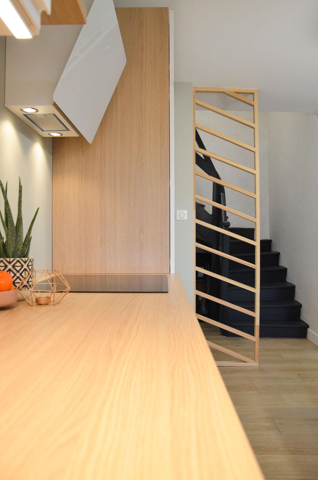 AL Intérieurs, agence architecture intérieur et décoration lyon, rénovation totale d'une maison de 85 m2
