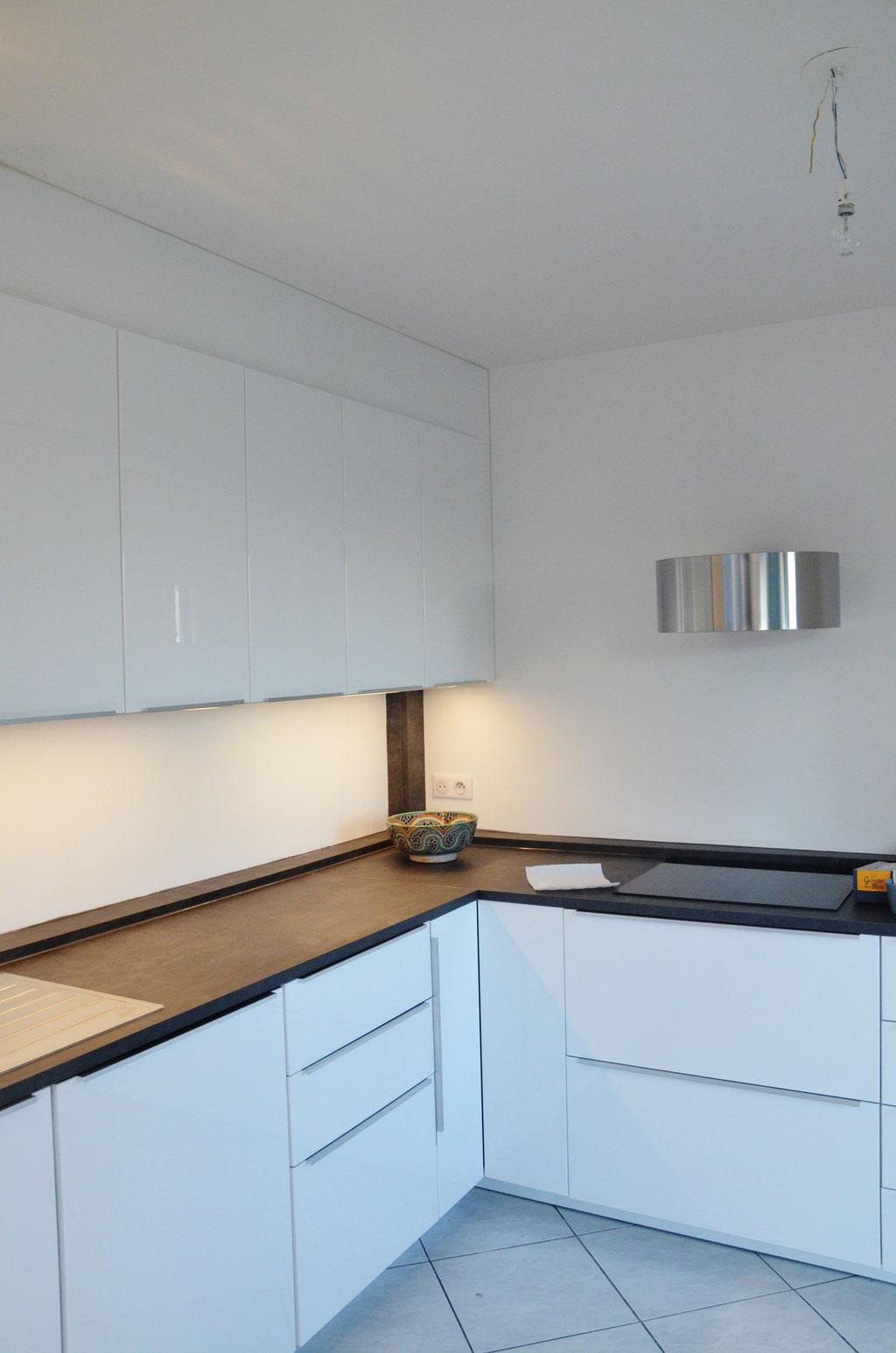 AL Intérieurs, agence architecture intérieur et décoration lyon, rénovation d'une cuisine design