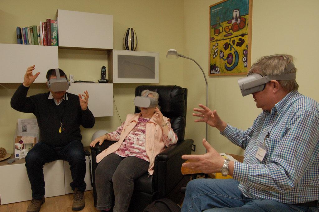 Mit dem IZGS-Projekt GESCCO und Virtual Reality Anwendungen gemeinsam wieder einen Ausflug unternehmen und die Erlebnisse teilen. | Foto: IZGS