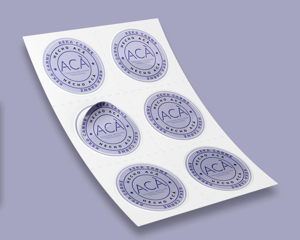 Conception Stickers - Print