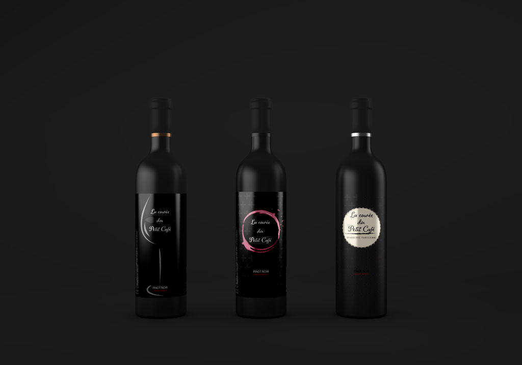 Création étiquette vin - Print