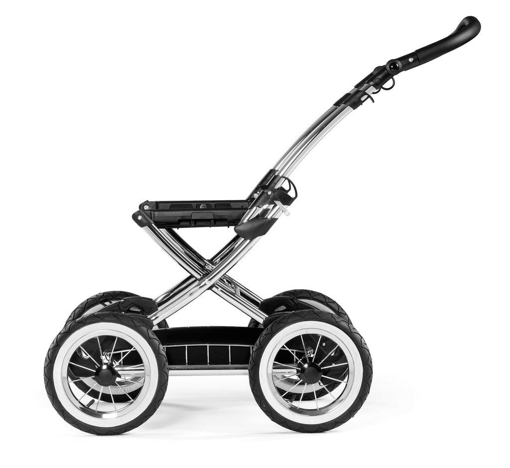 Kinderwagen Culla Elite gestell classico seitenansicht