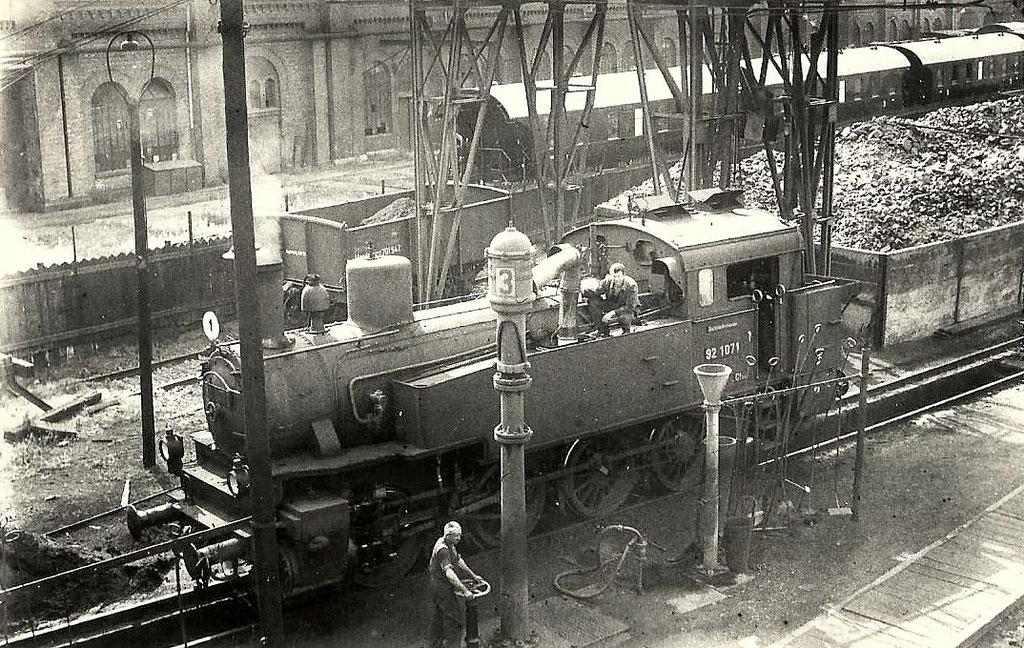 Lok 92 1071 um 1930