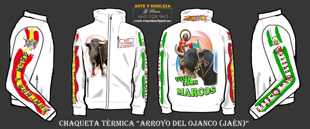 """. - Chaqueta """"San Marcos - Arroyo del Ojanco"""" (arteynobleza.jimdo.com)"""