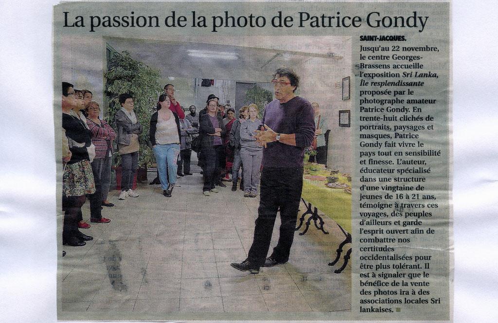 Centre Georges Brassens. CLERMONT-FD. La Montagne du 14/11/13