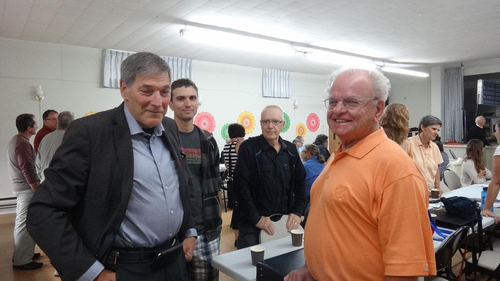 Un invité de prestige, Marc-André Morin, député NPD à Ottawa