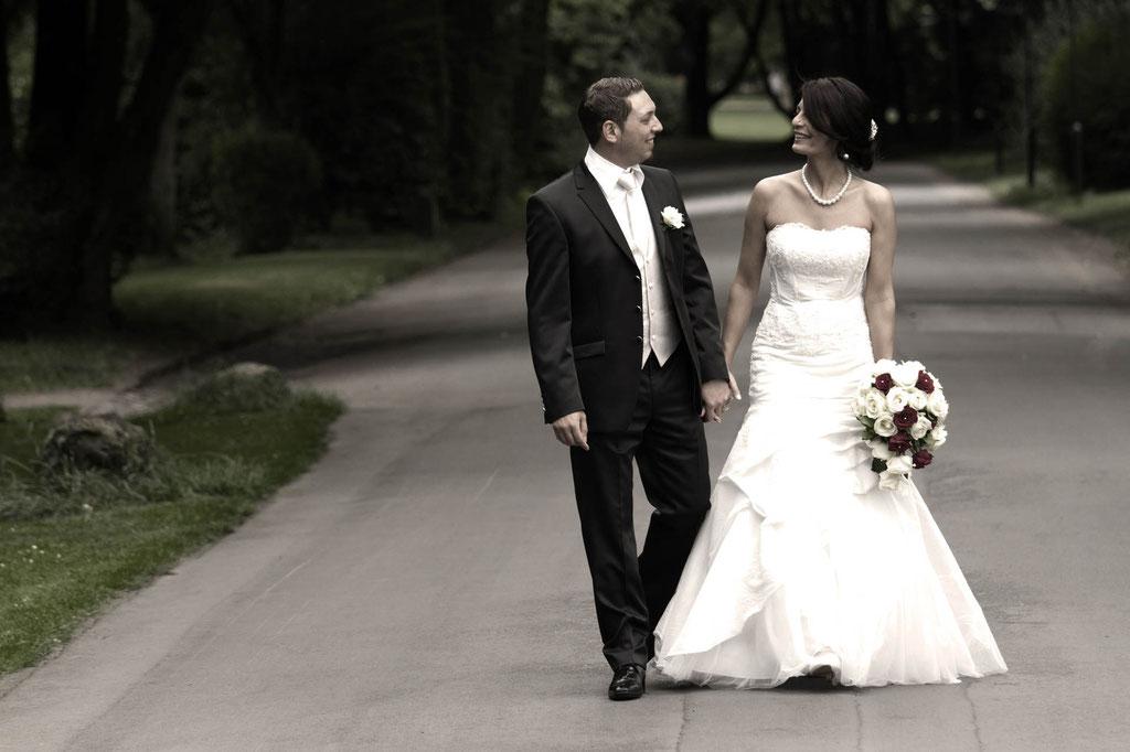 Hochzeit Fotograf Wuppertal Elisenturm gemeinsamer Weg Ehe Hardt