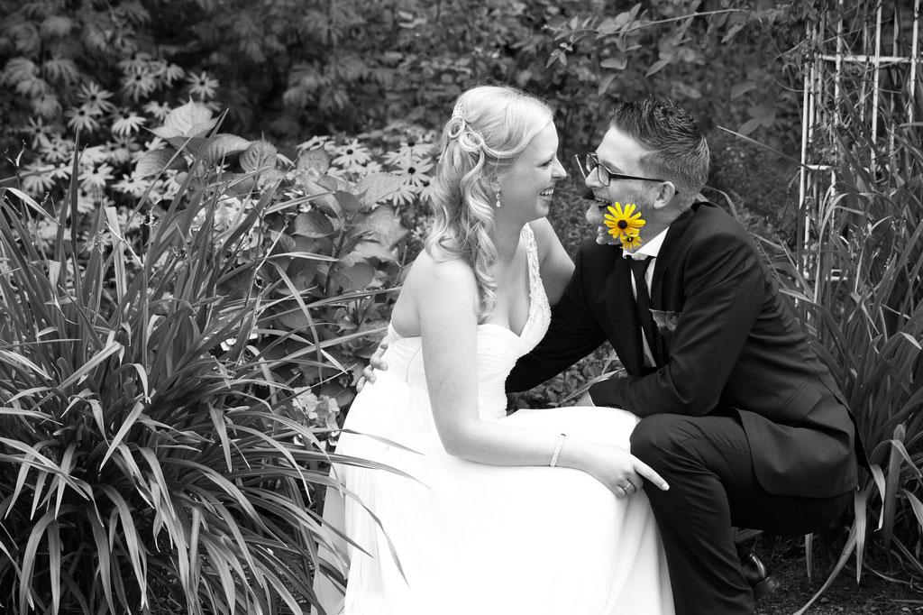 Hochzeit Fotograf Blume Margerite Remscheid Wuppertal NRW