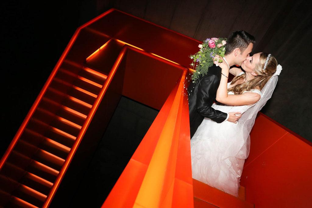 Hochzeit Zeche Zollverein Hochzeitsfoto Fotograf Wuppertal NRW