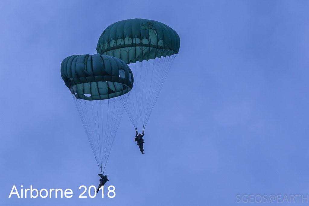 Airborne luchtlandingen 2018 - Ginkelse heide - Ede - 22 Sep 2018