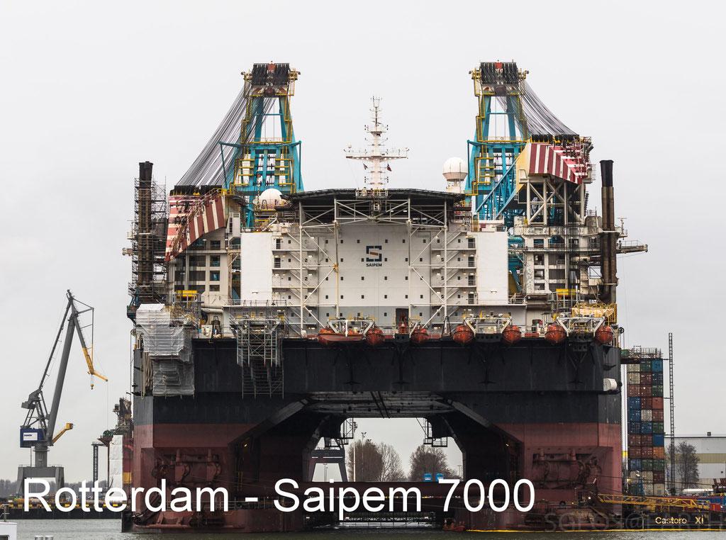 Rotterdm - Saipem 7000 - 23 Dec 2018