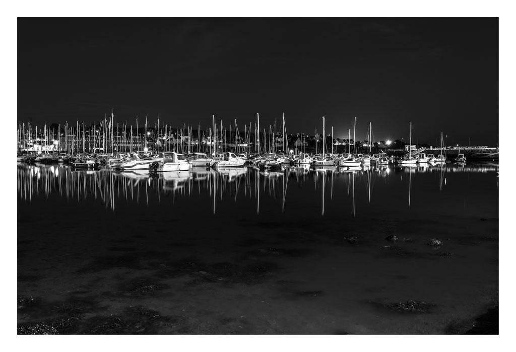 Concarneau - Le port de plaisance.