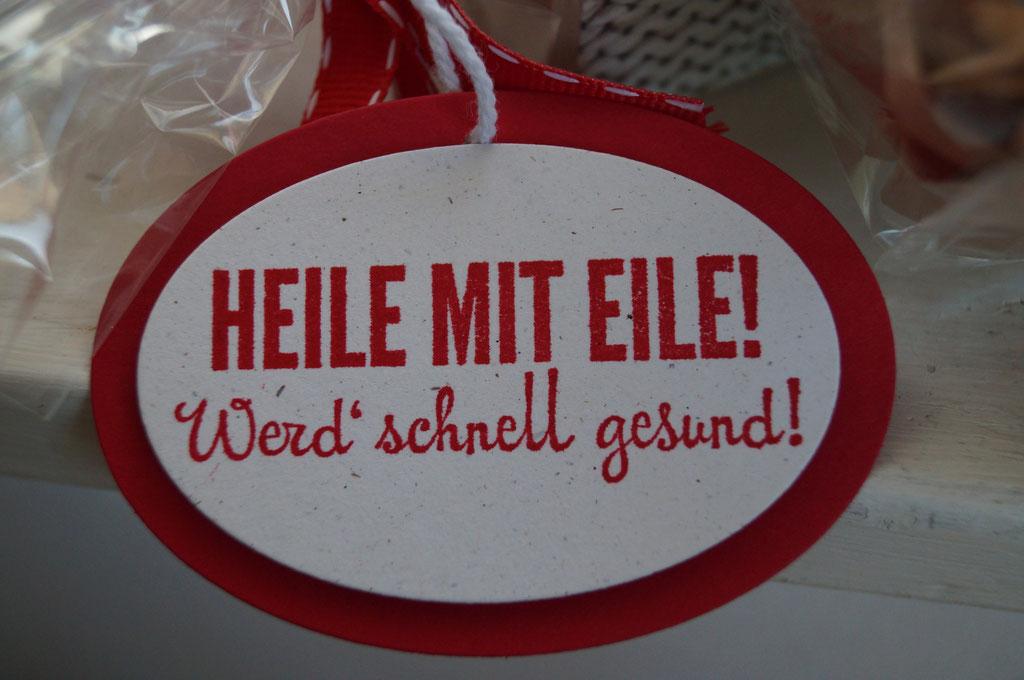 Heile mit Eile von Stampin´Up - Patricia Stich 2015
