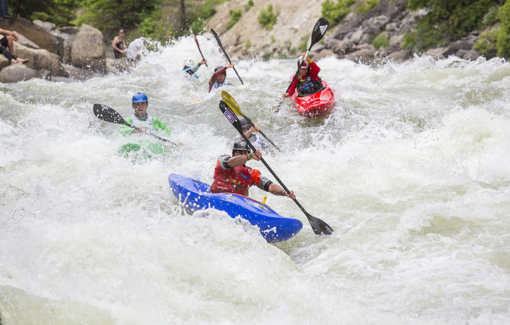 North Fork Championship. Idaho Kayaking. Kayaking Race. Regan Byrd.