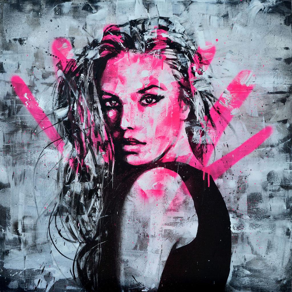 GRAFFMATT - Pink Portrait