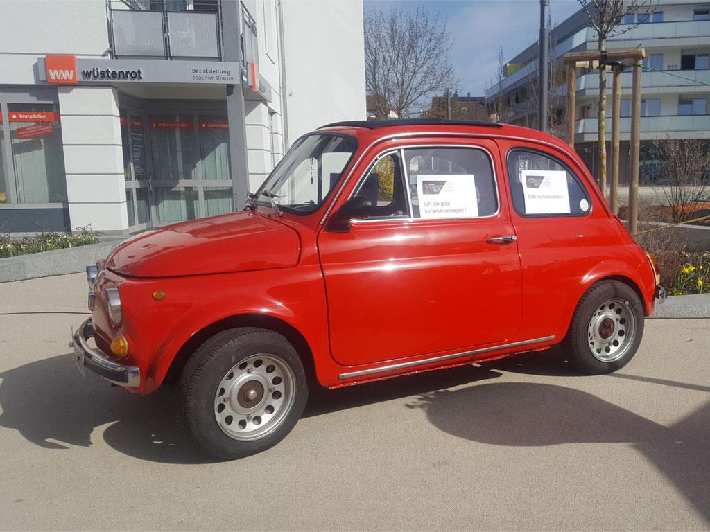 Fiat 500 Seitenansicht