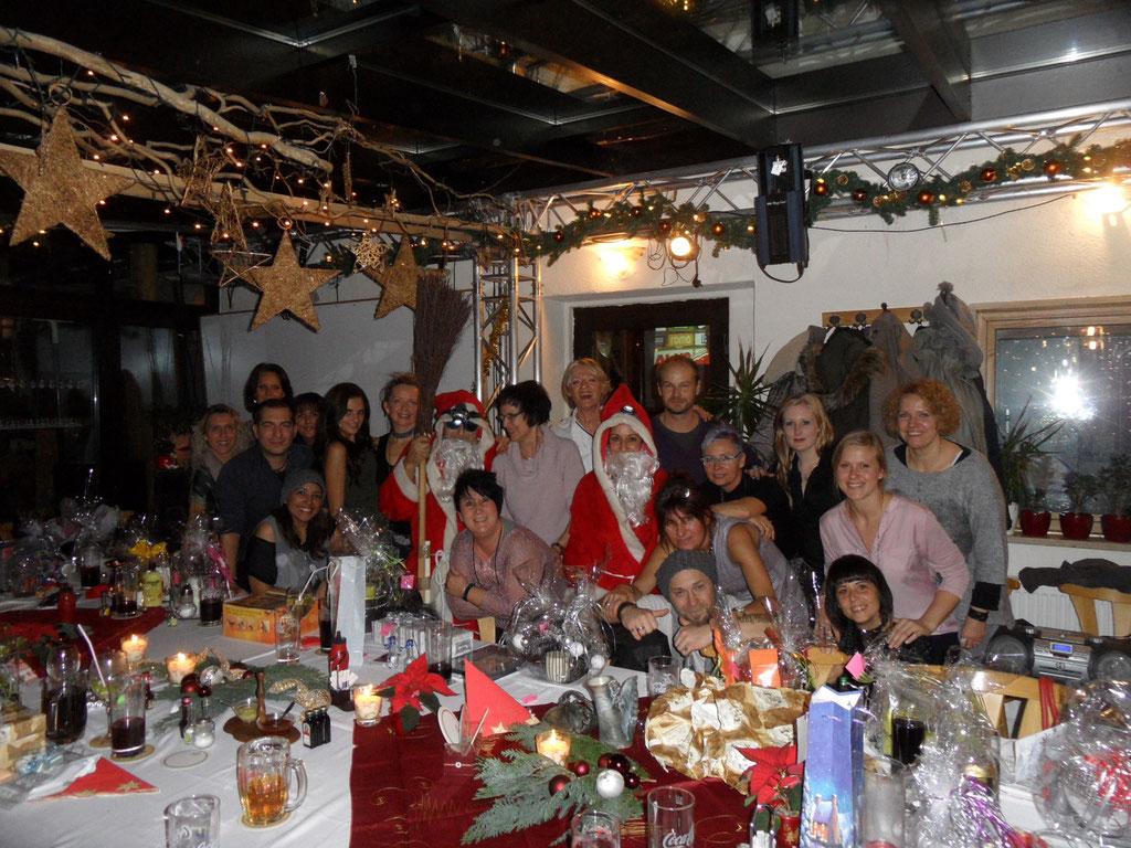 Weihnachtsfeier Mode Point 2014