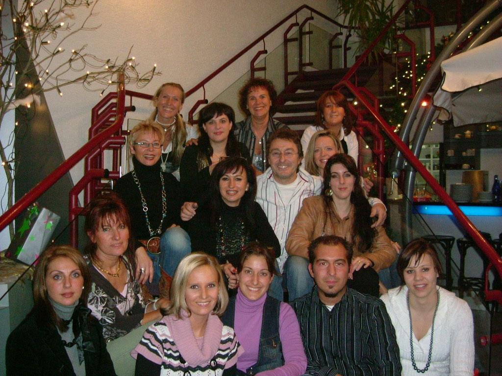 Weihnachtsfeier Mode Point 2006