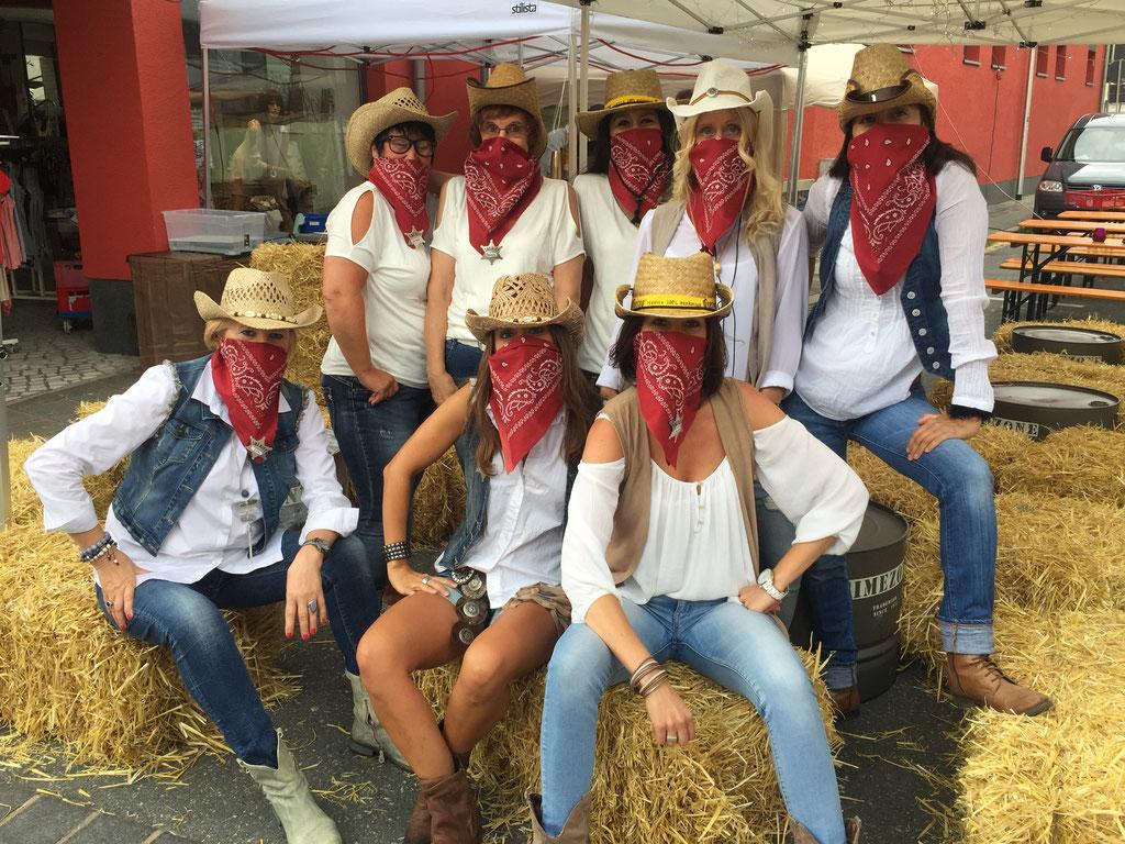 Wild West Einkaufsnacht Mode Point 2017
