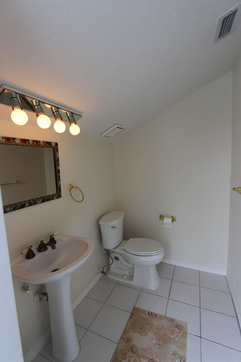 Drittes Badezimmer mit Terrassenzugang