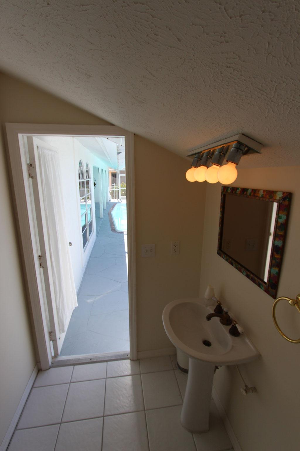 Drittes Badezimmer (außen)