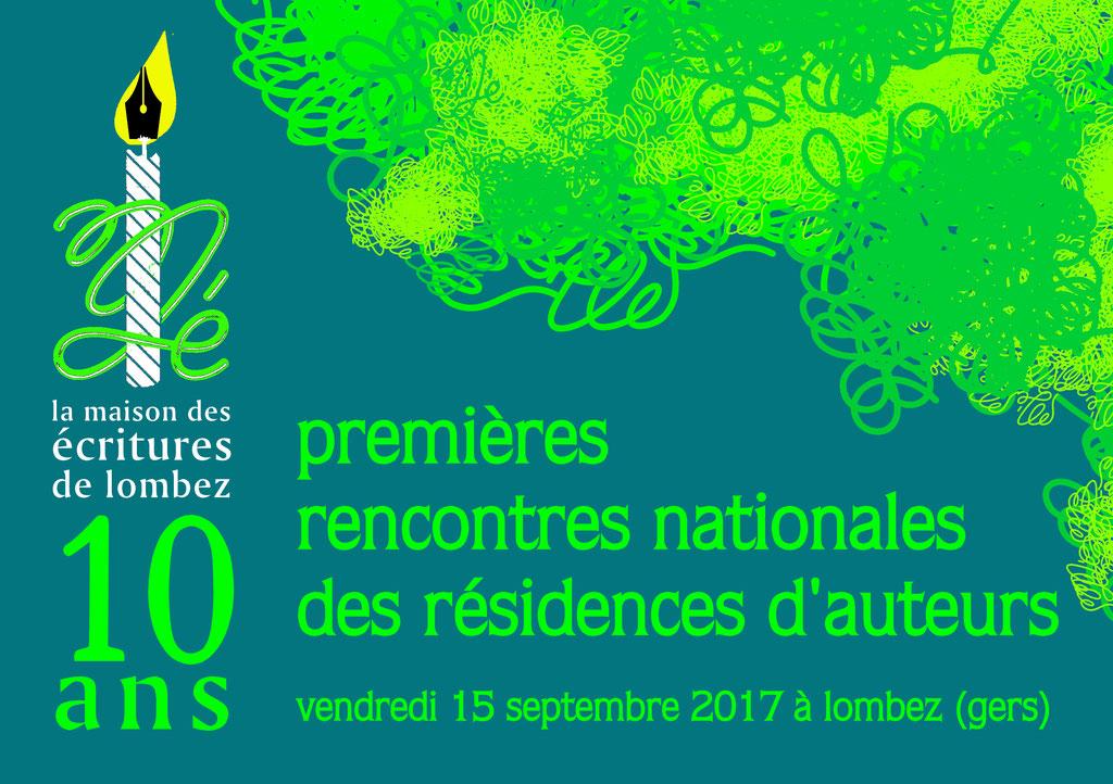 Journée professionnelle : premières rencontres nationales des résidences d'auteurs