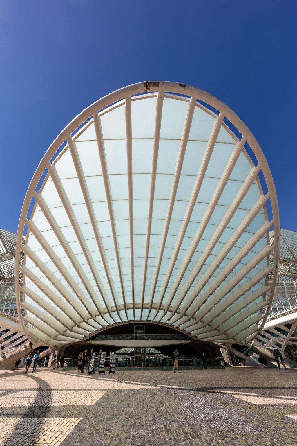 Lissabon Bahnhof Oriente