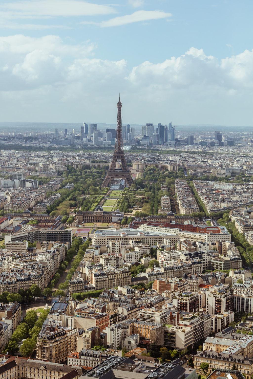 Blick von Montparnasse