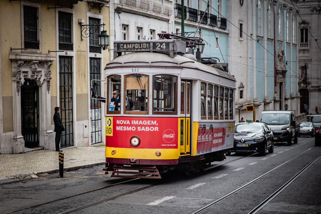 Lissabon Straßenbahn Linie 28