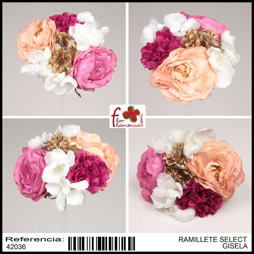 Ramillete Select FLOR FLAMENCA GISELA