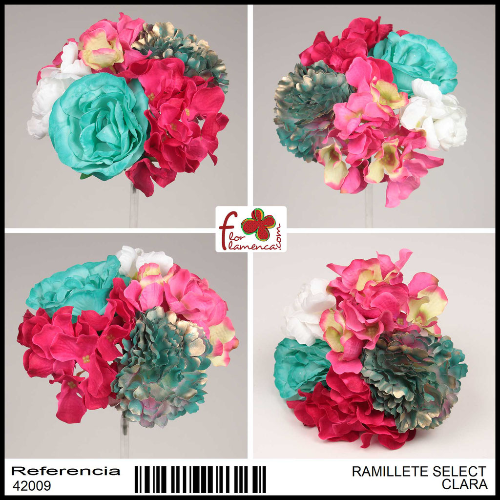 Ramillete Select FLOR FLAMENCA CLARA