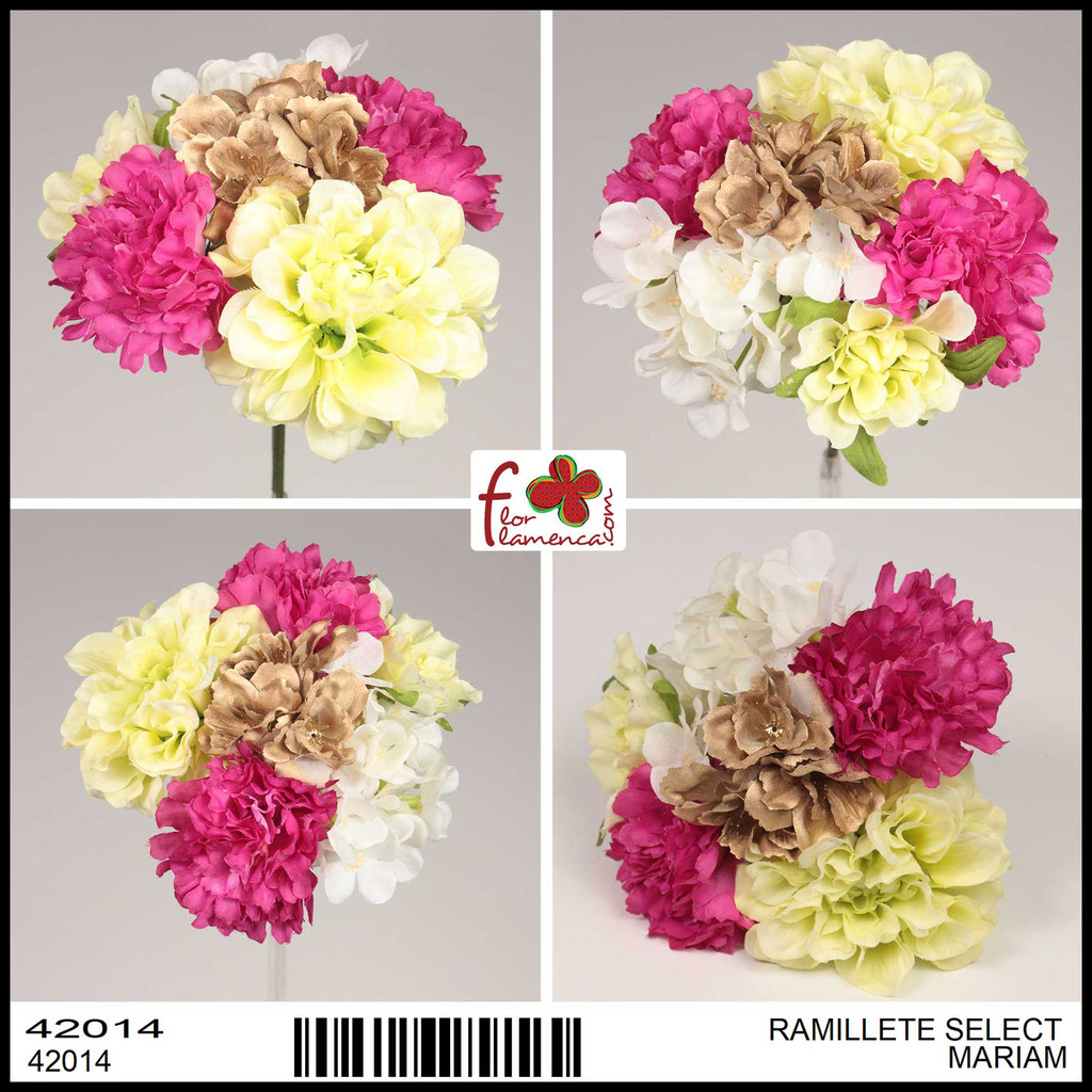 Ramillete Select FLOR FLAMENCA MARIAM