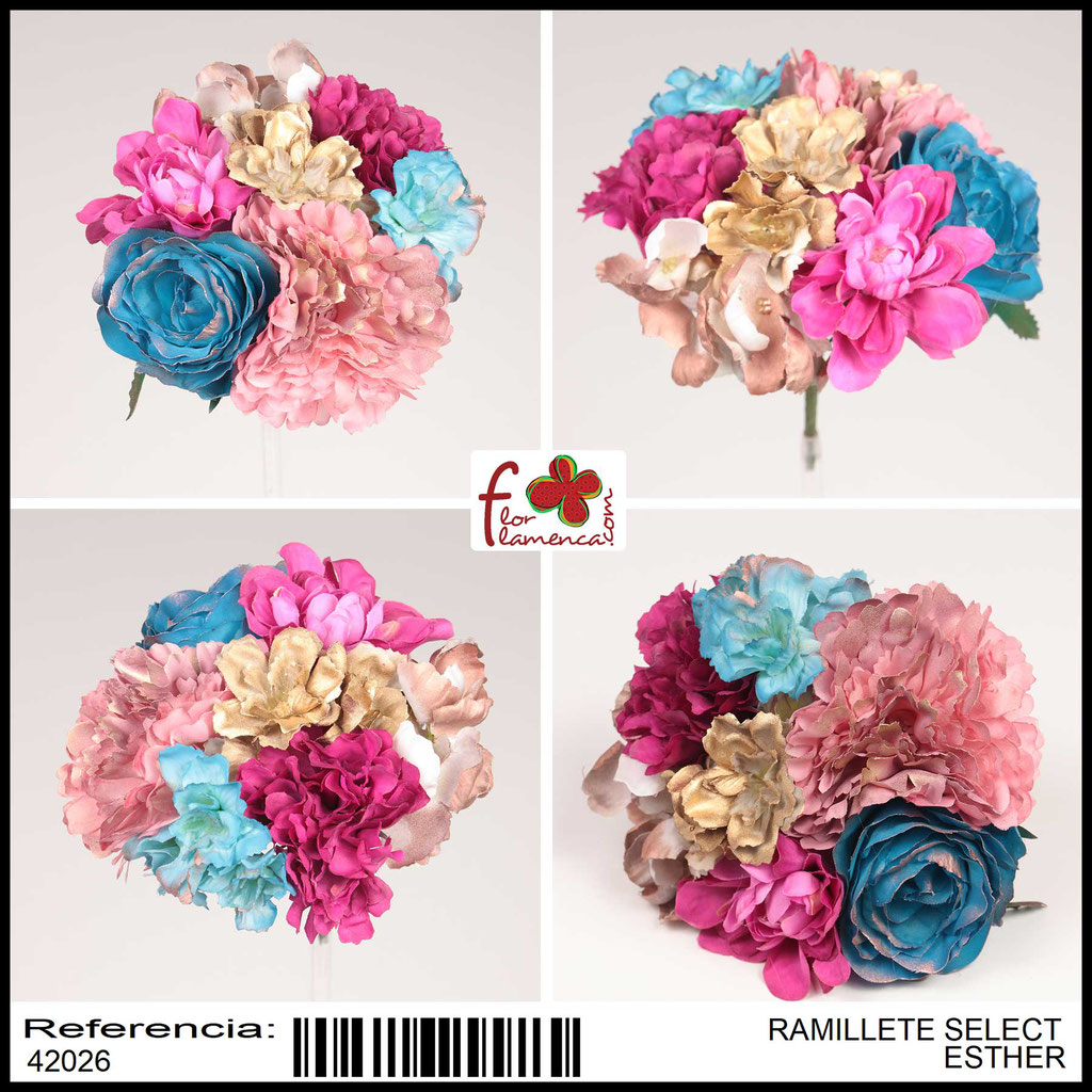Ramillete Select FLOR FLAMENCA ESTHER