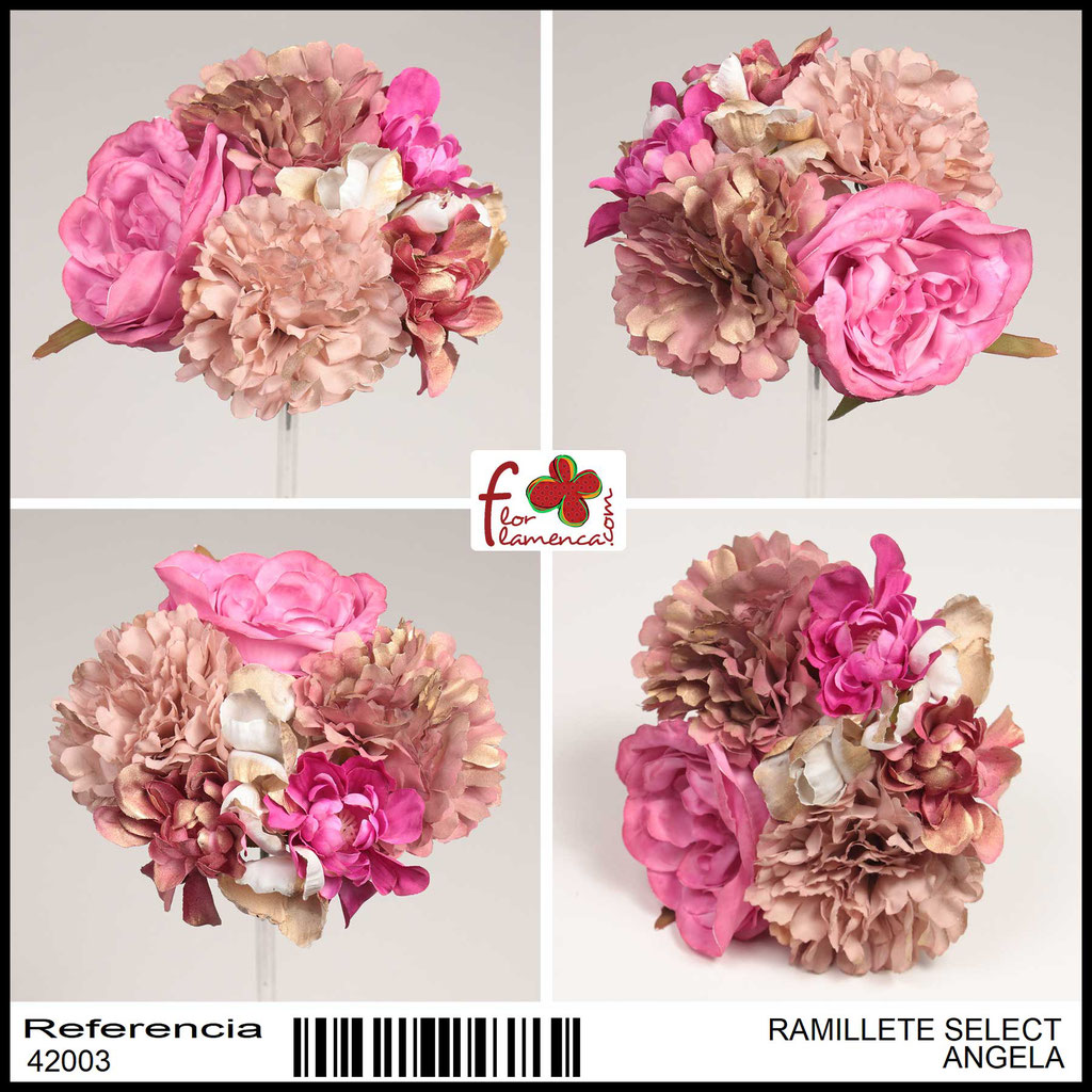 Ramillete Select FLOR FLAMENCA ANGELA