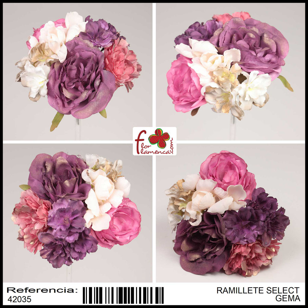 Ramillete Select FLOR FLAMENCA GEMA